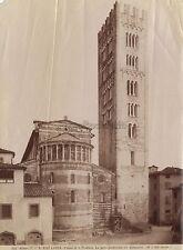 Lucques Lucca Italia Italie Photo Alinari Vintage albumine ca 1880
