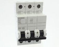 Siemens 5SJ43 C63 Sicherungsautomat 5SJ4363-7CC20 Leitungsschutzschalter 63A 3P
