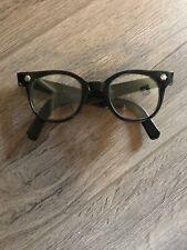 Tru-Vue Black Thick U.S.A. Nerd Glasses 5 3/4