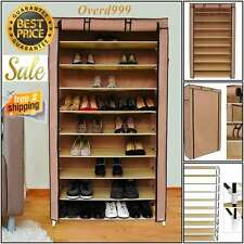 Tiers Rack Shoe Storage Holder Cabinet Organizer Closet Room Home 10 Layer New