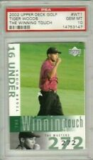 Tiger Woods 2002 Upper Deck UD Winning Touch PSA 10 Gem Mint *POP 24* (2YR RC)