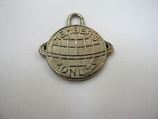 Vintage Collectible Charm: MEMBERS ONLY Planet Ring Design