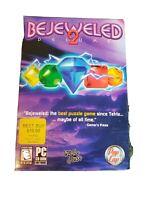 Bejeweled 2 Deluxe PC CD-ROM Game 2004 Mumbo Jumbo Disk