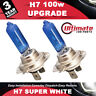 H7 100w Xenon Headlight Bulb Super White 6500k Lamp Light HID Effect Bulbs 12v