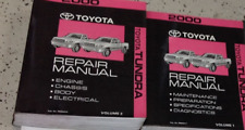 2000 Toyota TUNDRA TRUCK Service Shop Repair Workshop Manual Set NEW
