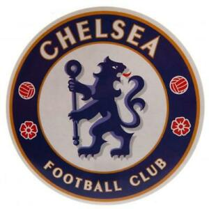 Chelsea FC Official Crested Large Sticker 18cm x 18cm Present Gift