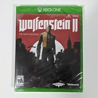 Wolfenstein 2 II: The New Colossus (Microsoft Xbox One, 2017, Bethesda) New