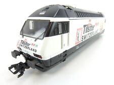 (AM0098) Märklin 34613 AC H0 E Lok Re 4/4 460 Tilsiter Switzerland Delta OVP