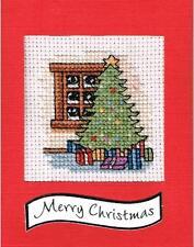 Counted Cross Stitch Card Kit 'Christmas Tree' - CSKIT19