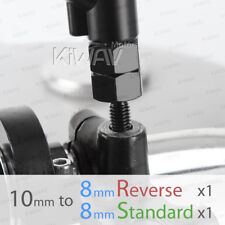 for scooter mirror adapter 10mm standard to 8mm standard & reverse USA STOCK ε