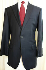 NWOT Brooks Brothers 1818 Madison Saxxon Wool Blue Pinstripe Suit 40R MSRP $1098