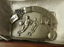 Rare Vintage 1984-1985 Basketball Commemorative Belt Buckle  UNWORN!