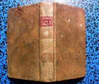 1805 ROUSSEAU OEUVRES STEREOTYPE D'HERHAN DE WAILLY POESIES VERS LIVRE OLD BOOK