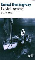 Livre poche le vieil homme et la mer  Ernest Hemingway book