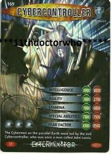 Dr Doctor Who BATTLES IN TIME Exterminator SUPER RARE CARD 169 Cybercontroller