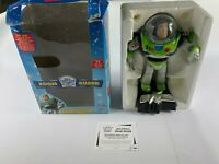 TOY STORY BUZZ LIGHTYEAR  ROOM GUARD - 1995 BOXED FULLY WORKING