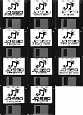 Roland JD-990 11-bank synth patch set - Emailed to you for download via Mac/PC