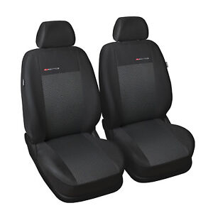 Fiat Panda 2x Front Velours P3-36 Auto Sitzbezüge Schonbezüge Sitzbezug
