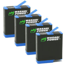 Wasabi Power Battery (4-Pack) for GoPro HERO8 Black (All Features Available),
