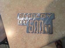 Shelby GT 500KR  logo Metal Man Cave/Garage Wall Art