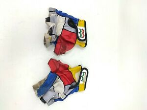 Vintage guanti gloves bike Cycling ciclismo  Look Mondrian