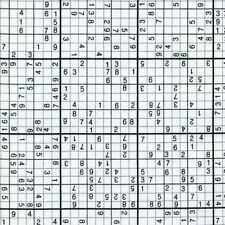 Geek Chic Sudoku Black White Quilt Cotton fabric by the Yard Timeless Treasures