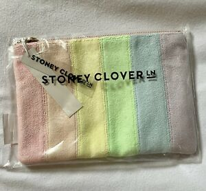 BRAND NEW Stoney Clover Lane Terry Rainbow Flat Pouch