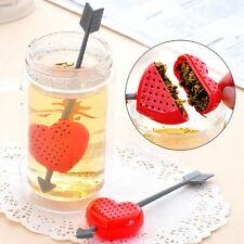 Colino filtro infusore Cupido cuore tazza tè foglie the infusi tisane camomilla