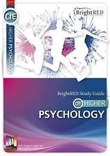 CfE Higher Psychology (Bright Red Study Guide) by Alistair Barclay | Paperback B