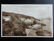 Argyll The Isle of Bute MONTFORD c1928 RP Postcard by Valentine 204915