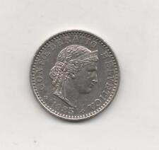 Moneta da 20 centesimi 1885 Svizzera - Rappen - CONFEDERATIO HELVETICA