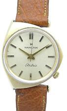 Hamilton Electric doublè caballeros-reloj pulsera-futurisches Design-aprox. 50er años