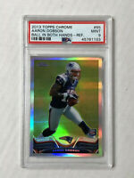 AARON DOBSON 2013 Topps Chrome SP BALL IN HAND VARIATION RC! PSA MINT 9! #65!