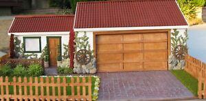 1/24-1/25 SCALE SCRATCHBUILT HOUSE DIORAMA BUILT BY ADAM GORMAN!!