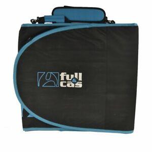 """Full & Cas 6'7"""" Black/Blue Surf Funda Tabla"""