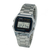 -Casio A158WA-1D Digital Watch Brand New & 100% Authentic