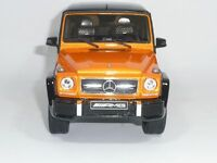 MERCEDES-BENZ G-KLASSE G63 AMG W463 SUNSETBEAM CRAZY COLOUR 1:18 GTSPIRIT DEALER