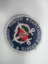 Patch Palombari Marina Militare Bandiera Italia Blu Toppa ricamata con velcro Toppe e patch