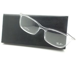 AUTHENTIC Ray Ban 7031 2001 Transparent RB RX Frame New Light Ray