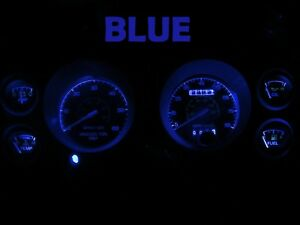 Gauge Cluster LED Dashboard Bulbs Blue For Ford 79 86 Mustang Speedometer