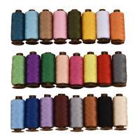Filo da cucito con 24 colori diversi, filo per macchina da cucire di alta