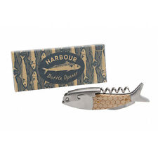 Harbour Blue Nautical Fish Bottle Opener.Barware. Home/Birthday/Christmas Gift