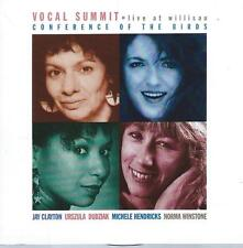 CD ALBUM VOCAL SUMMIT CONFERENCE OF THE BIRDS JAZZY- HOLLAND