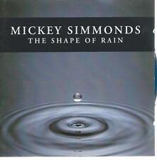 new age CD album MICKEY SIMMONDS - THE SHAPE OF RAIN 1996