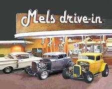 PUT YOUR CAR at Graffiti's MELS DRIVE-IN Print Gift