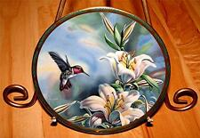 Gems of Nature The Beautiful Hummingbirds Ruby-throated Hummingbird Bird Plate