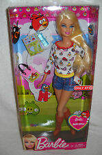 #6224 NRFB Target Stores Angry Birds Barbie Special Edition Version #1