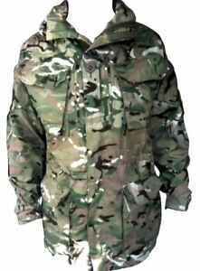 MTP PCS Windproof Smock/Jacket With Hood - British Army Military Camouflage NEW