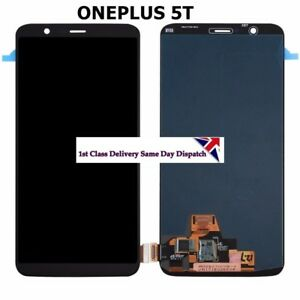 For OnePlus 5T  LCD Display Touch Screen Digitizer Assembly Replacement UK