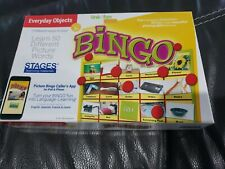 Everyday Objects Bingo Learning Game